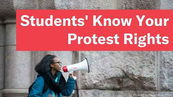 Students Know Your Protest Rights